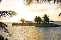 Lets Get Together and Feel Alright! (Poocher7) Tags: jamaica carribean ocean gulfofmexico sunset beautiful sunny palmtrees island privateisland beach sand people loungechairs rocks water relaxation peaceful sundaylights montegobay tropical