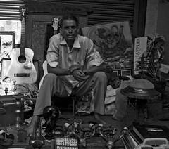 Street portrait (magiceye) Tags: fleamarket street streetportrait streetphoto monochrome blackandwhite mumbai india bnw trader chorbazaar