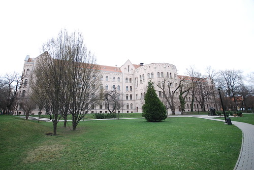 The Building of the Faculty of Arts of Szeged University, South-West View