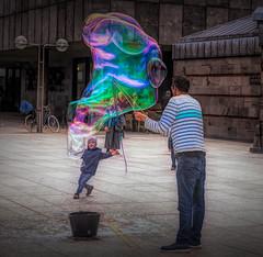 Magic of Soap Bubbles (Ernst_P.) Tags: deu deutschland köln nordrheinwestfalen seifenblase art digitalart sigma 24105mm f40 bubble kind children