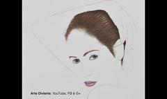 Cómo dibujar cabello con lápices de colores - Narrado (artedivierte) Tags: arte dibujo artedivierte mujer cabello retrato artistleonardo tutorial leonardopereznieto colores tutto3 patreon