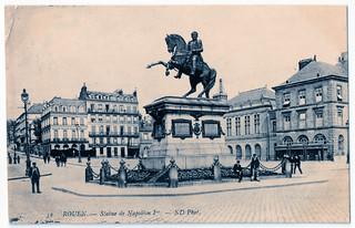 Rouen - Statue de Napoléon 1er