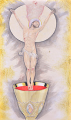 The Eucharist (alexandre_rogala) Tags: christ catholic eucharist eucharistie sacrifice mass christian christianity mary maria chalice calice bread wine blood body consecration liturgy jesus god gospel bible transubstantiation priest ordination