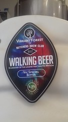 Vibrant Forest & Butchers Brew Club Walking Beer (graham19492000) Tags: beer beerlabel brewery bitter