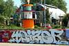 graffiti and streetart in Amsterdam (wojofoto) Tags: amsterdam nederland netherland holland graffiti streetart wojofoto wolfgangjosten ndsm teizer