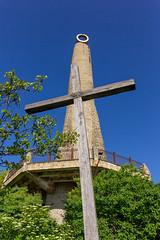 Lumânarea Recunoștinței (RunningRalph) Tags: candlemonument cross kruis lumânarearecunoștinței moldavie moldova soroca raionulsoroca moldavië md