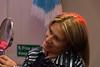 Kinsale market (JohnMawer) Tags: ireland eire woman countycork kinsale mirror beaty smile