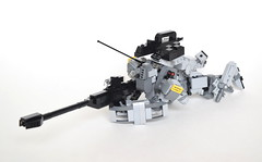 """NAVCS-01A """"Panthera"""" Mass-Production VCS (ExclusivelyPlastic) Tags: lego mech mecha robot military scifi design figure anime japanese futuristic infantry"""