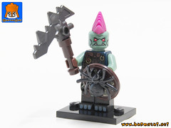 ORCS ARMY 07 (baronsat) Tags: lego collection moc mix custom minifigs minifigures citadel warhammer lotr orcs goblin game tabletop rpg miniatures dungeons add dragons
