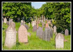 Graves 1 (veggiesosage) Tags: nottingham aficionados gx20 rockcemetery churchcemetery cemetery graveyard tamronaf1750mmf28xrdiiild