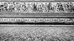 antithesis (Hendrik Lohmann) Tags: streetphotography street bnw blackandwhite monochrome urban people nikon wideangle df dresden