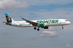 N714FR Frontier Airlines A321 (Centreline Photography) Tags: airport runway plane planes aeroplane aircraft planespotting canon aviation flug flughafen airliner airliners spotting spotters airplanes airplane flight centrelinephotography chrishall miami miamiairport florida kmia usa america mia