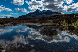Cuillins reflected
