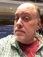 Day 2300: Day 110: At the show (knoopie) Tags: 2018 april iphone picturemail doug knoop knoopie me selfportrait 365days 365daysyear7 year7 365more day2300 day110 everettcivicauditorium