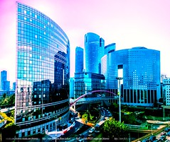 Paris la Défense ! (Cedraw) Tags: ladéfense paris street landscapedreams landscape streetscape nikon18140 urban urbain ville brillant lightscape skyscape sky buildings parisladéfense soe lumière lumineux luminosité paname nikon light nikond7200