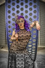 Virgo Metallum (Luv Duck - Thanks for 12M Views!) Tags: select teresa mask mardigrasmask purple scrapmetalart curvy beautifulgirl sexy brianmock modeling photoshoot alaskangirls