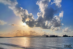 Sunset Praslin (morbidtibor) Tags: africa seychelles ladigue digue beach sea ocean