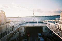 Playa del Carmen (cranjam) Tags: sanmigueldecozumel playadelcarmen cozumel ferry traghetto ricoh gr1 gr1v film kodak portra160 mexico messico yucatán sunset tramonto transcaribe quintanaroo