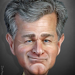 Christopher Wray - Caricature thumbnail