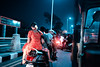 Breezy Night in Chennai (Jon Siegel) Tags: nikon d810 sigma 24mm 14 24mmf14 people life india chennai beautiful evening breeze cool relaxing culture road driving autorickshaw night