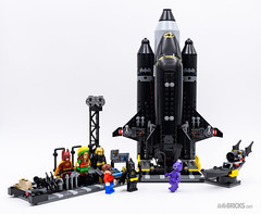 REVIEW LEGO 70923 The Bat-Space Shuttle (hello_bricks) Tags: review lego 70923 batspace shuttle space navette fusée batman legobatman legobatmanmovie robin catwoman dc comics dccomics superheroes