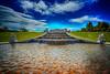 Feuerwasser (Roman Achrainer) Tags: belvedere schlos schlossgarten wasser wolken himmel österreich achrainer