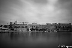 Rusadir en B/N (josmanmelilla) Tags: melilla españa blanco negro pwmelilla flickphotowalk pwdmelilla pwdemelilla puerto agua mar