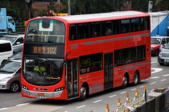 Kowloon Motor Bus Volvo B9TL 12m Wright Eclipse Gemini II (nighteye) Tags: kowloonmotorbus kmb 九龍巴士 volvo b9tl 12m wright eclipse geminiii avbwu657 va4153 route102 hongkong bus