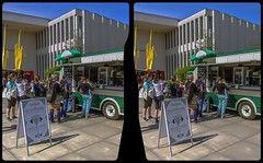 Vintage food truck 3-D / CrossView / Stereoscopy / HDRaw (Stereotron) Tags: berlin spreeathen mitte metropole hauptstadt capital metropolis brandenburg streetphotography urban citylife city foodtruck vegan vegmed dahlem freieuniversität crosseye crossview xview pair freeview sidebyside sbs kreuzblick 3d 3dphoto 3dstereo 3rddimension spatial stereo stereo3d stereophoto stereophotography stereoscopic stereoscopy stereotron threedimensional stereoview stereophotomaker stereophotograph 3dpicture 3dimage twin canon eos 550d yongnuo radio transmitter remote control synchron kitlens 1855mm tonemapping hdr hdri raw