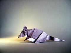 Mouse - Zhao Yanjie (Rui.Roda) Tags: origami papiroflexia papierfalten souris raton camundongo rato mouse zhao yanjie