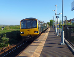 143618 Newcourt (Marky7890) Tags: gwr newcourt 143618 class143 pacer 2t24 railway devon avocetline train