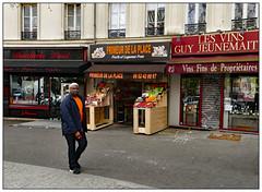 Fruits et Legumes (donbyatt) Tags: paris urban shops fruit orange candid people street