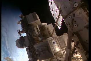 ISS_20180516_ Spacewalk exp.55