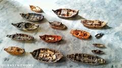 Small ships and boats... (hoangbinhboong) Tags: boats travel hoian viet vietnam stilllife pottery miniature