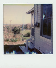 summer cottage (philipgreene) Tags: impossibleproject600film0317 ndfilter philipgreene guilfordct cottage