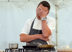 Scarborough Food & Drink Festival 2018 - Chef James Mackenzie (Tony Worrall) Tags: james mackenzie jamesmackenzie cook chef event demo show stage cooking scarboroughfooddrinkfestival2018 scarborough food drink festival 2018 yorkshire northyorkshire add tag ©2018tonyworrall images photos photograff things uk england foodie grub eat eaten taste tasty cooked iatethis foodporn foodpictures picturesoffood dish dishes menu plate plated made ingrediants nice flavour foodophile x yummy make tasted meal nutritional freshtaste foodstuff cuisine nourishment nutriments provisions ration refreshment store sustenance fare foodstuffs meals snacks bites chow cookery diet eatable fodder