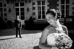 M & Y-M Wedding ([Eric OLIVIER]) Tags: mariage wedding photosdecouple château noiretblanc blackandwhite canon eos 5d mkiii ef 2470mm f28