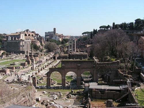Римський форум, Рим, Італія InterNetri Italy 393