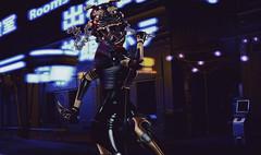 Mean Street (riowyn.slife) Tags: ay cybernetics cyberpunk secondlife krova omnis sole marukado insilico scifi biker bodylanguage