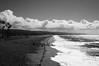 Newport Beach Mono (tamasmatusik) Tags: newportbeach balboapier beach monochrome blackandwhite bw noiretblanc landscape california feketefehér sony sonynex nex6 30mm sigma sigmalens cloudporn contrast shore ocean sky sand water sea orangecounty