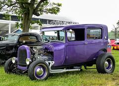 Your Basic Two Door Sedan Hot Rod (J Wells S) Tags: 2doorsedan streetrod hotrod cincystreetrodscarshowandswapmeet butlercountyfairgrounds hamilton ohio oldschool