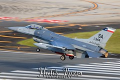 87-0344 (Hector A Rivera Valentin) Tags: f16 viper 149fw texas san antonio f16c lockheed marin martin tjsj sju airport fly over juan pilot life amazing usaf air force unites states