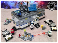 48-01 Planetary Outpost (captainmutant) Tags: afol classic space lego ideas legospace legography photography minifig minifigs minifigure minifigures moc sciencefiction science fiction scifi exploration brickography toy custom