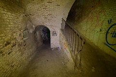 Entrance to Caponier (IntrepidExplorer82) Tags: dover western heights bastion caponier england kent napoleonic fortification fort
