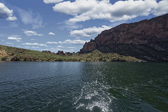Canyon Lake  31 (Largeguy1) Tags: approved landscape water blue sky clouds canon 5d mark ii