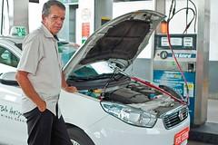 Gás é opção para a gasolina alta, e economia chega a 50% (portalminas) Tags: gás é opção para gasolina alta e economia chega 50