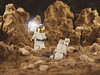 Astronaut in trouble (BrickVin) Tags: lego space scifi minifigure minifigs astronaut mars redplanet macro photograpy rocks planet