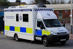 British Transport Police Iveco Daily Command And Control Unit (PFB-999) Tags: british transport police btp iveco daily command and control unit mobile ccu lightbar grilles fendoffs sidelights leds lx61dje aintree liverpool