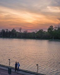 Sunset colors... (AB Photo Infinity) Tags: goodvibes greattime bulgaria plovdiv nature outdoor parks forest trees water cityscape 50mm beautiful nikond610 nikon clouds sky colors sunset