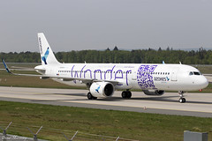 """Azores Airlines """"Wonder Livery"""" A321-200NEO CS-TSG (birrlad) Tags: frankfurt fra main international airport germany aircraft aviation airplane airplanes airline airliner airlines airways arrival arriving landing landed runway taxi taxiway azores airazores airbus a321 a21n a321200 a321253n neo cstsg pontadelgada wonder livery colour scheme decals titles"""